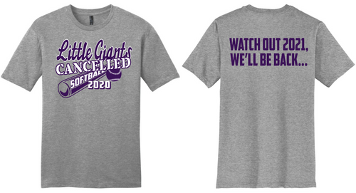 2020 Cancelled Spring Sports-Fremont Ross Softball T-Shirt