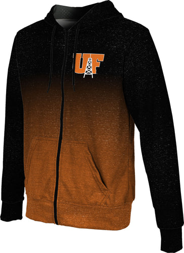 University of Findlay Full-Zip Hoodie-Ombre