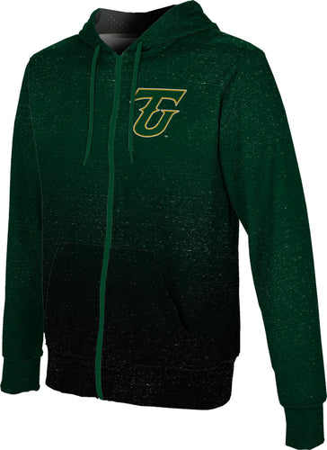 Tiffin University Full-Zip Hoodie-Ombre
