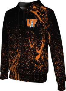 University of Findlay Full-Zip Hoodie-Splatter