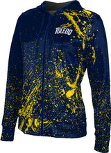 University of Toledo Full-Zip Hoodie-Splatter