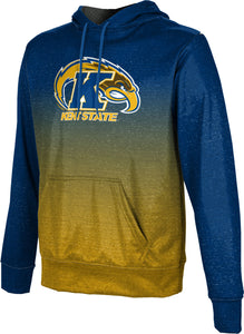 Kent State University Pullover Hoodie-Ombre