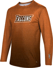 BGSU Long Sleeve Tee-Ombre