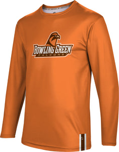 BGSU Long Sleeve Tee-Solid