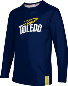 University of Toledo Long Sleeve Tee-Solid