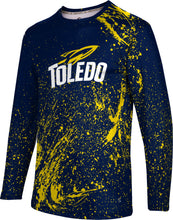 University of Toledo Long Sleeve Tee-Splatter