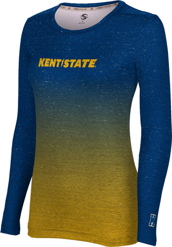 Kent State University Long Sleeve Tee-Ombre