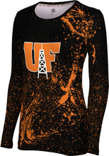 University of Findlay Long Sleeve Tee-Splatter