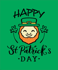 Happy St. Patrick's Day Shirt (Choice of Short Sleeve, Long Sleeve, Crewneck or Hoodie)