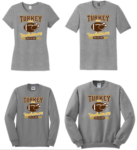 Turkey & Touchdowns Thanksgiving Apparel
