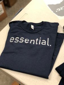 Essential. Tri-Blend soft t-shirt- Choice of Print Color