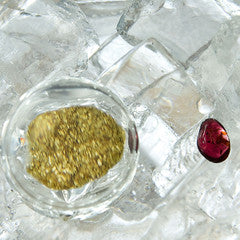GOLDEN MOMENTS RHINEGOLD HALITE & GARNET