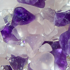 WELLNESS AMETHYST & ROSE QUARTZ