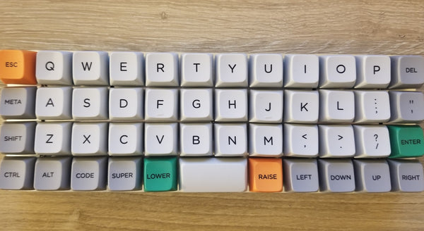 HalfPi QMK-compatible Wireless Keyboard