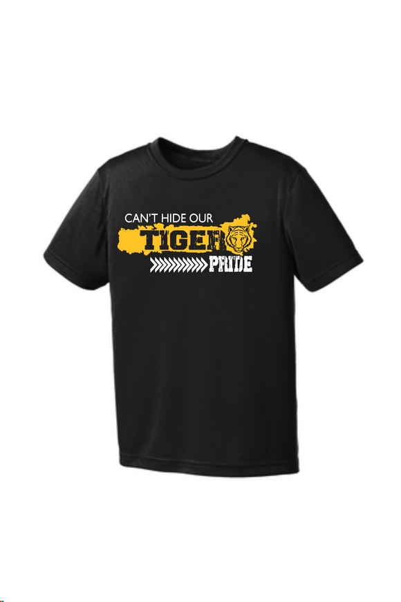 Can't Hide Our Tiger Pride- Black