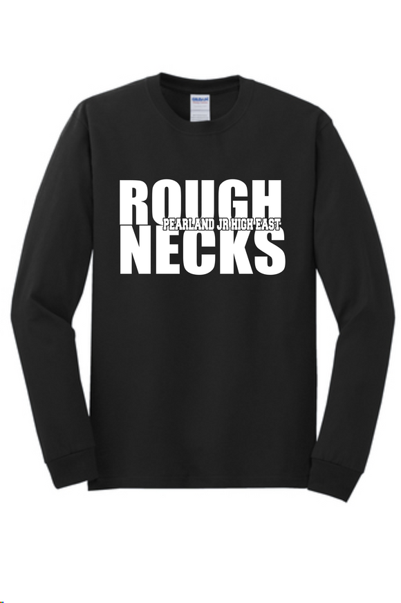 PJHE - RoughNecks - Black Longsleeve