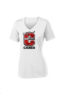 Gulf Coast Canes - Big C  Moisture Wicking VNeck