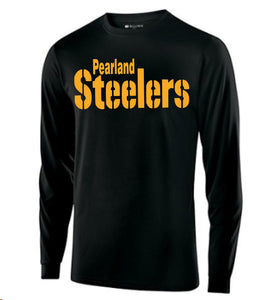 Pearland Steelers Longsleeve Black