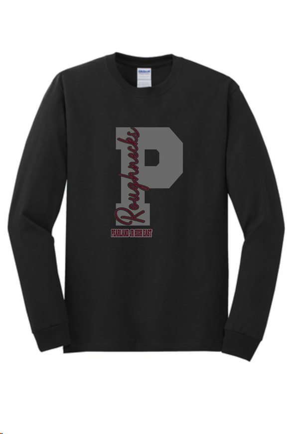 PJHE - Big P - Black Longsleeve