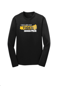 Alexander MS-Cant Hide our Tiger Pride- Black Performance Long Sleeve