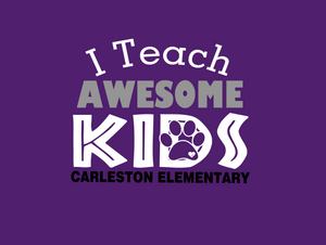 Carleston Non-medical Face mask(T)-  I Teach Awesome Kids