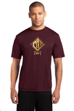 CAT-  Maroon Performance Tee