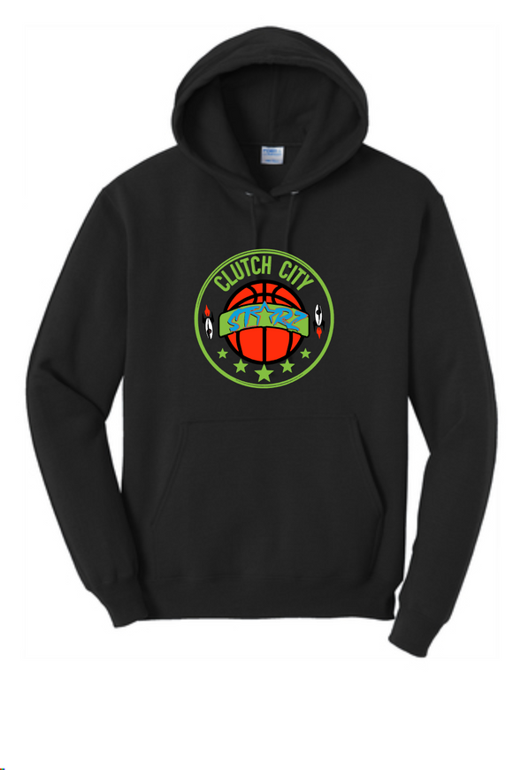Clutch City -  Black Fleece Hoodie