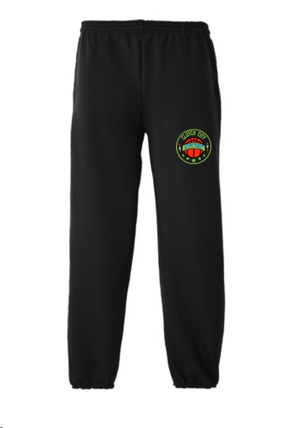 Clutch City -  Black Fleece Jogging Pants
