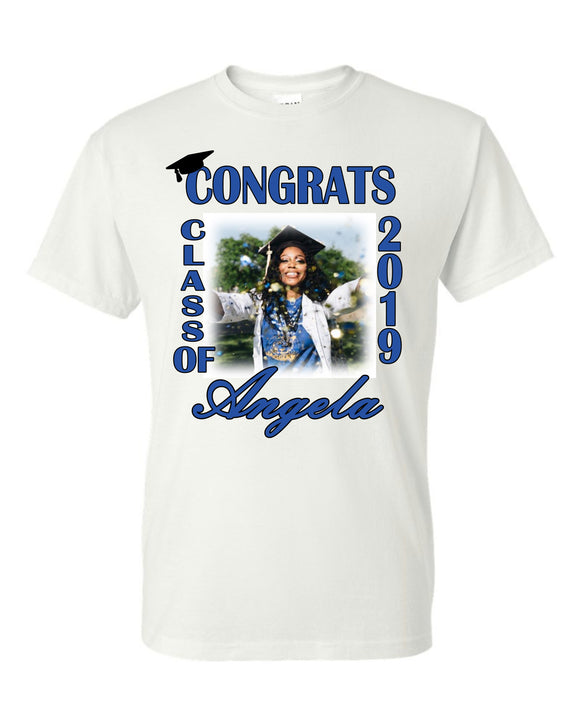 Congrats  Graduation  Photo Tshirt