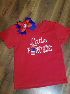Patriotic T-Shirt & Bow