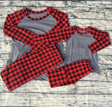 Christmas Pajamas Sets- Youth
