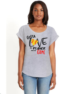 Softball Shirt- Gotta Love a Player with Game