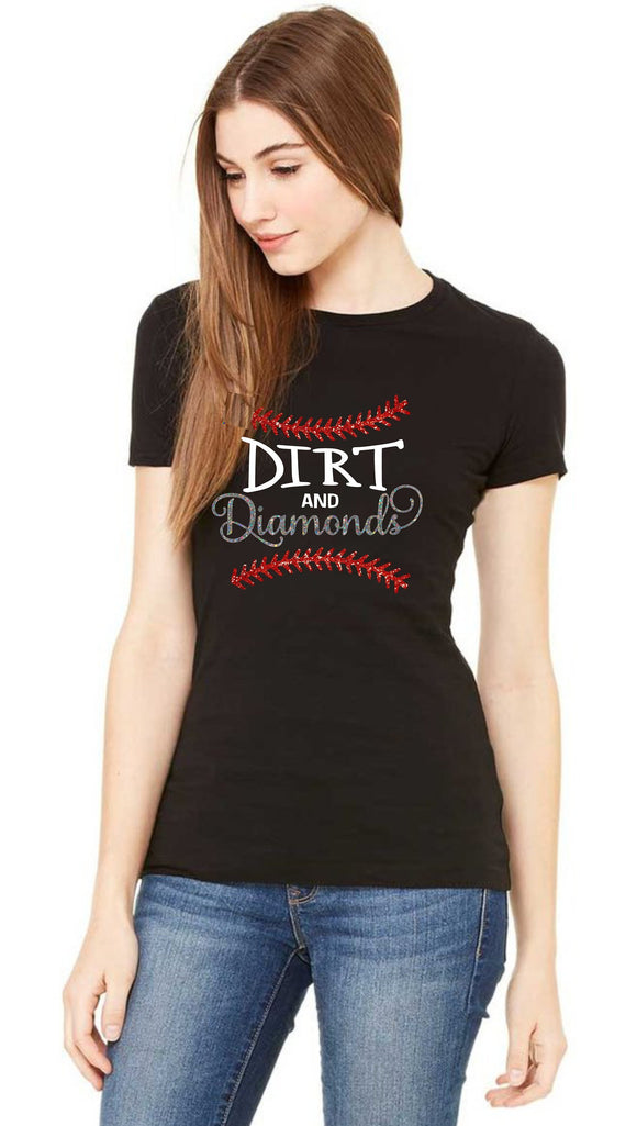 Baseball Shirt- Dirt & Diamonds