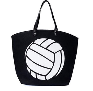 Volleyball Tote Bag
