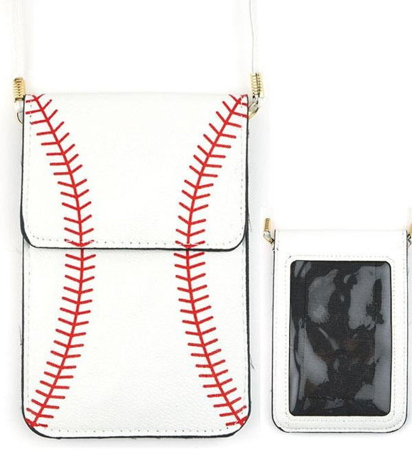 Sports Themed Crossbody Cellphone Holder