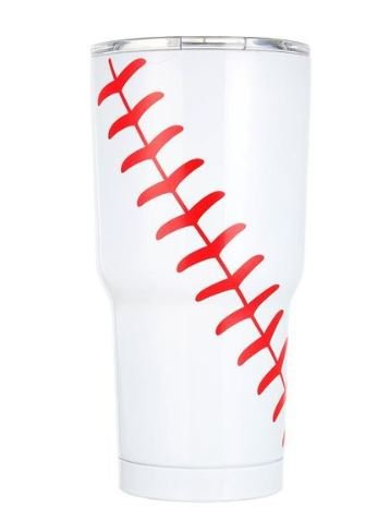 30oz Tumbler Sports Themed