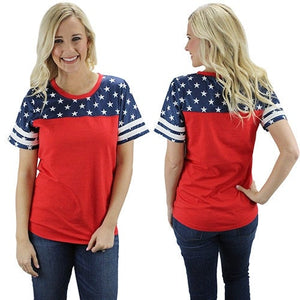 Stars & Stripes Tee, July 4th shirt, Patriotic tee, Fourth of July, Independence Day Shirt, Patriotic Shirt