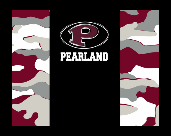 Pearland East Non medical Face mask- Maroon Camo