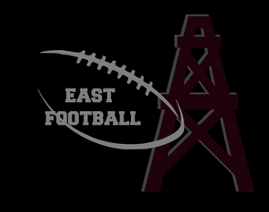 Pearland East Non medical Face mask- Football