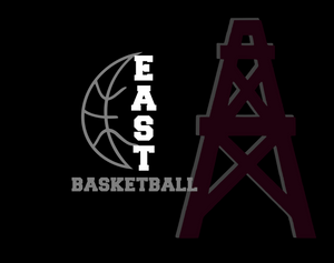 Pearland East Non medical Face mask- Basketball