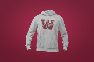 Pearland JH West Heather Grey Hoodie