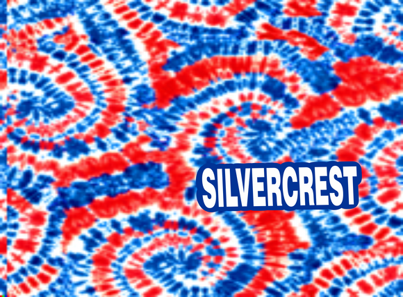 Silvercrest Non-medical Face mask-Tie Dye