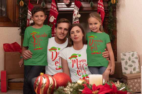 Graphic Tee - Elf  Family Christmas Shirt