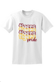 Tigers Pride- White, Golden Yellow, and Maroon