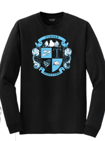 Turner Crest-Black Long Sleeve