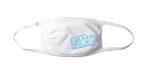 Turner Flat Front Face Mask - White