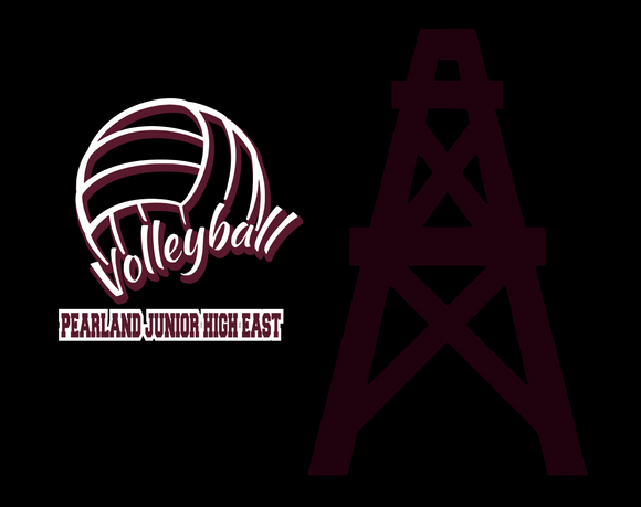 Pearland East Non medical Face mask- Volleyball