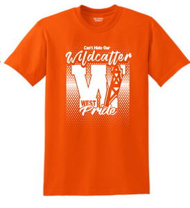 Can't Hide Our Wildcatter Pride-Orange