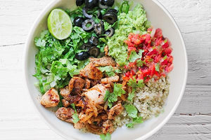 "<span class=""orange"">*NEW*</span> Chipotle Chicken Burrito Bowl (DF 