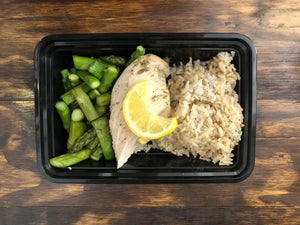 Chicken Brown Rice Asparagus